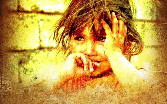 اطفال العراق