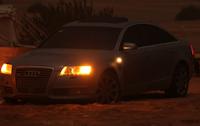 تصوير ليلي ضوئي Audi A6