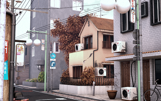 Japanese Neighbourhood
