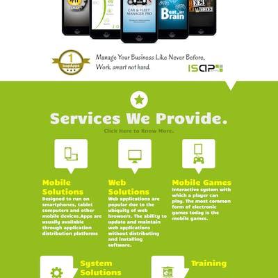 Isapapps Website Design