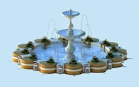 Free Sketchup 3D Model Fountain