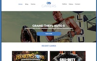 GAMERS Free PSD Template