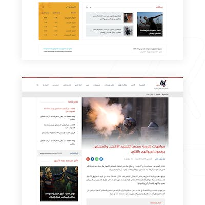 Napaa Press Website UI/UX