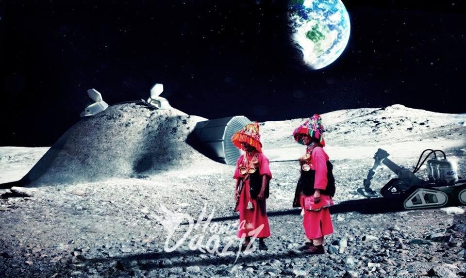 """""""الڭراب"""" على سطح القمر"""