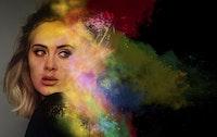 …Adele