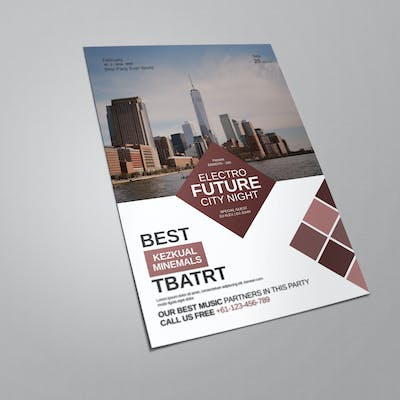Corporate Color Flyer