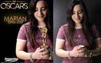 Marian With Oscar