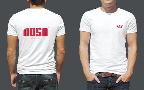 تصميم تيشيرت لشعار نوسو