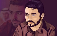 Ahmed Alaa animated picture