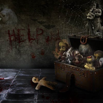 صندوق الدمى
