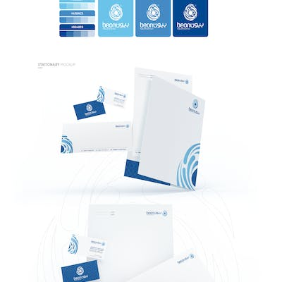 BEON Mineral Bottled water | brand identity