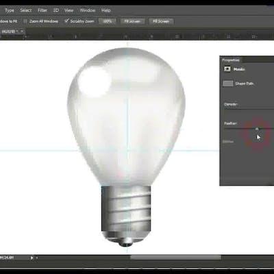 تصميم مصباح كهربائي من الصفر