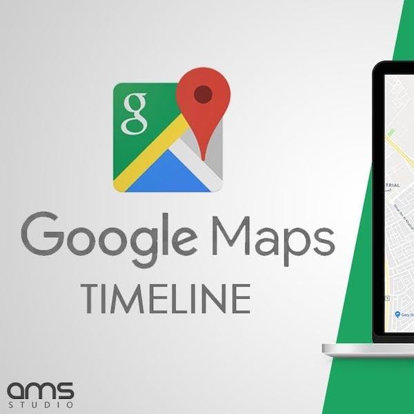 جوجل ماب – تايم لاين   Google maps