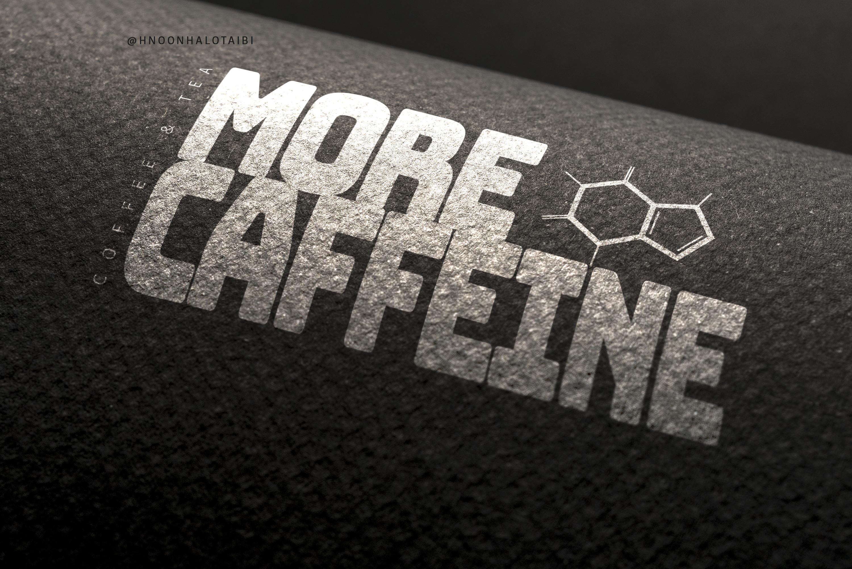 شعار لمقهى ، استخدام  شكل تركيبة الكافيين