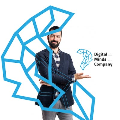 شعار شركة digital minds