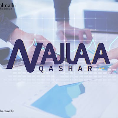logo and branding NAJLAA QASHAR (Business Analysis)