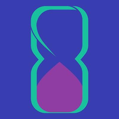 شعار ساعة رملية
