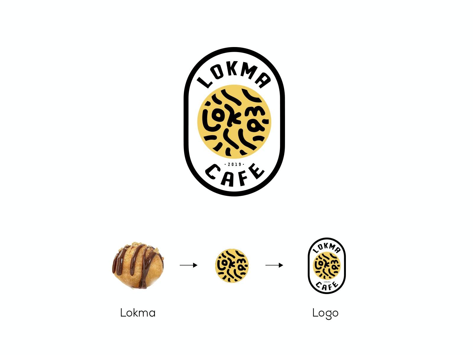 شعار سلسلة مطاعم ومقاهي لقمة
