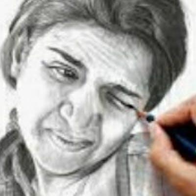 رسم  رسامه مبدعه وخيال الريشه والدقه برسم